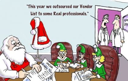 This year we outsourced our vendor list to some real professionals